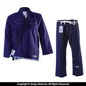 Grab and Pull Premium Navy BJJ Gi 2.0
